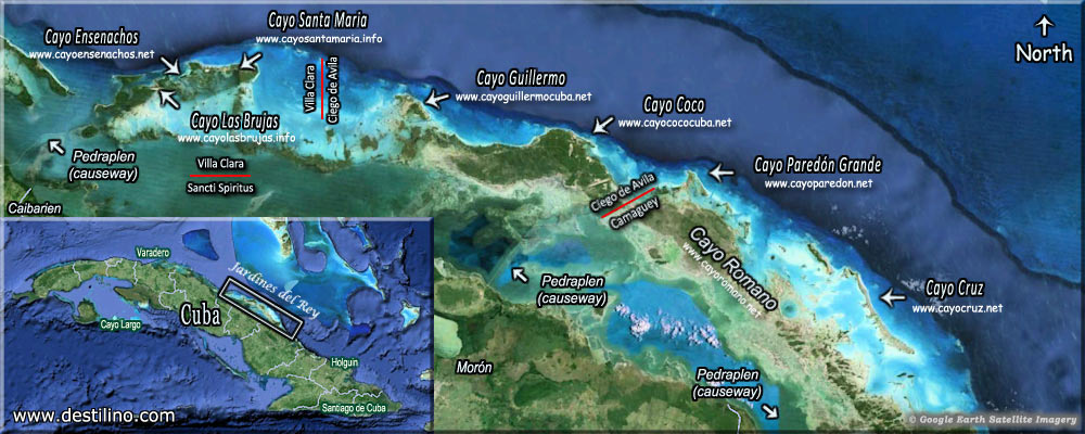Location and Maps | Cayo Coco, Cuba
